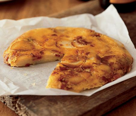 Find the recipe for Potato Cake with Cheese and Bacon and other potato recipes at Epicurious.com