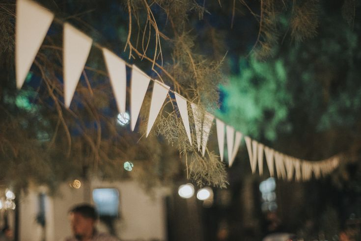 lafete wedding, party banners guirlande, decorations, Sifnos, Cyclades