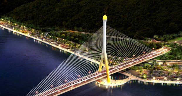Brunei Cable Stayed Bridge - Infotainment