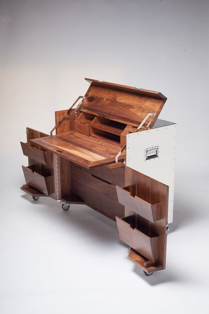 Modern Campaign Furniture, Fold it up and take it with you when you move #tenants #rental #furniture