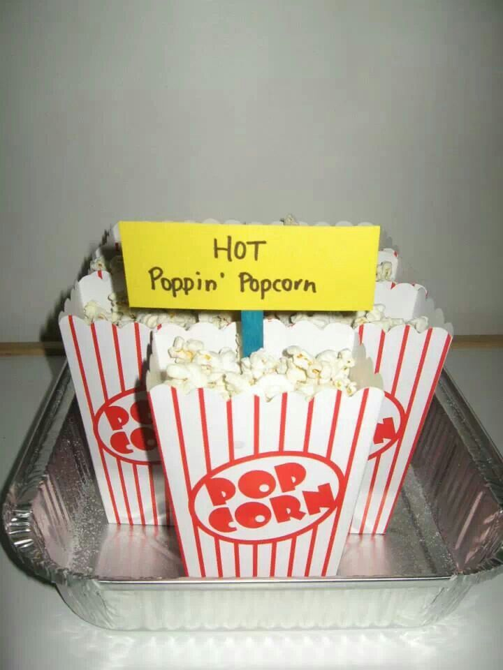 Wiggles party food - hot poppin popcorn