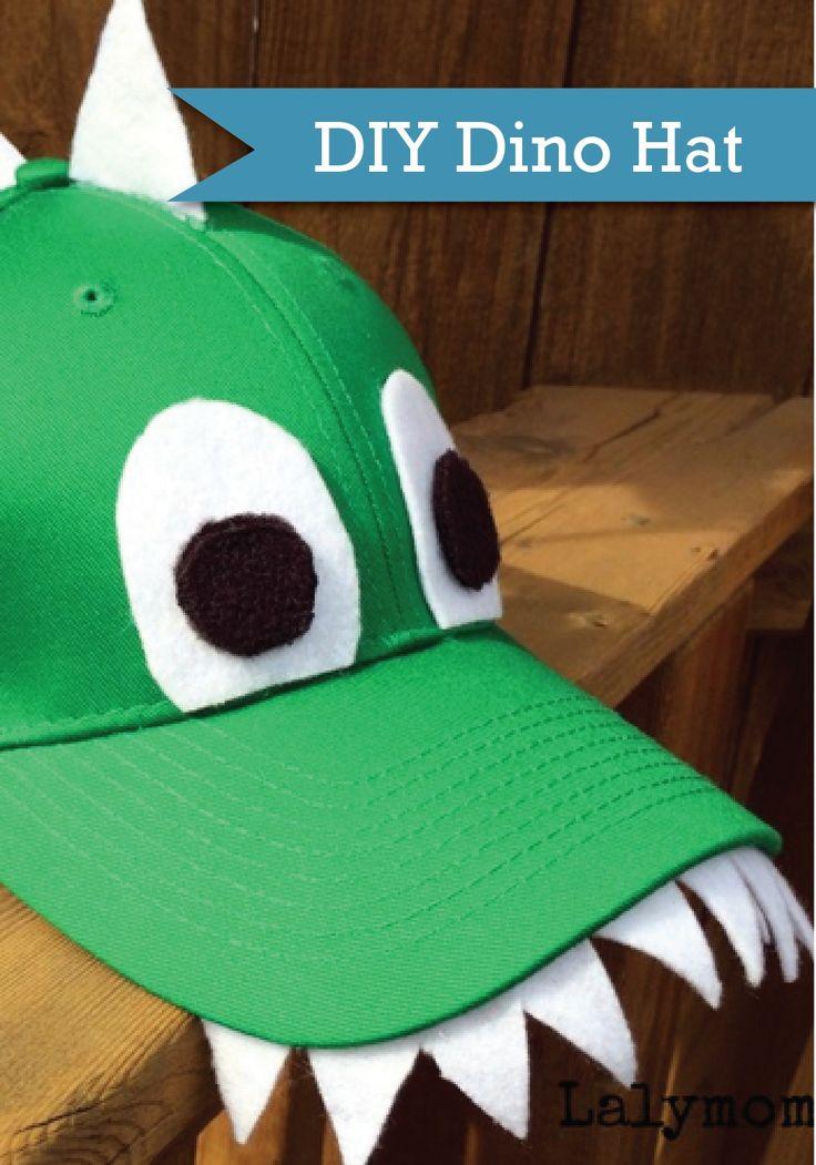 Let kids make this super fun dinosaur hat this summer!
