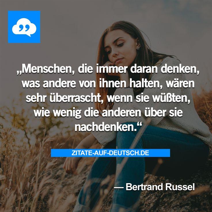 #Menschen, #Nachdenken, #Spruch, #Sprüche, #Zitat, #Zitate, #BertrandRussel