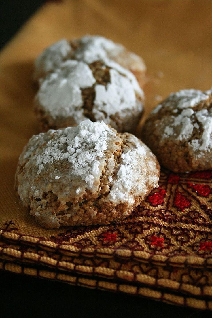 Ghribas au sésame, pâtisserie Marocaine