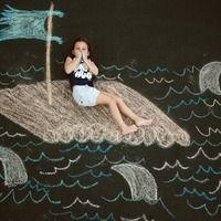 Adventures in Chalk - Adventures in Chalk - burgh baby