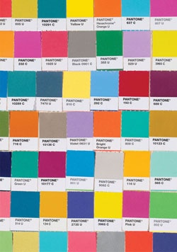 Pantone colors for Valspar! www.abeautifulmess.com