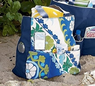Beach bag. DIY: Pottery Barn Inspired, Creations Corner, Tote Tutorial, Totes Tutorials, Totes Bags, Pottery Barns Inspiration, Tote Bags, Sewing Bags, Inspiration Totes