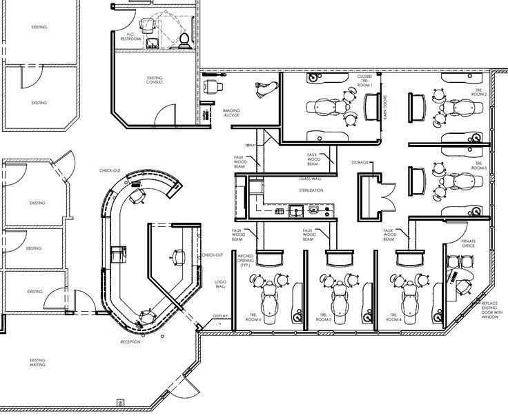 dental office floor plan. Office Floor Plan, Dental, Plans, Offices, Floors, Bureaus, Flooring, Dentistry, Desks Dental Plan