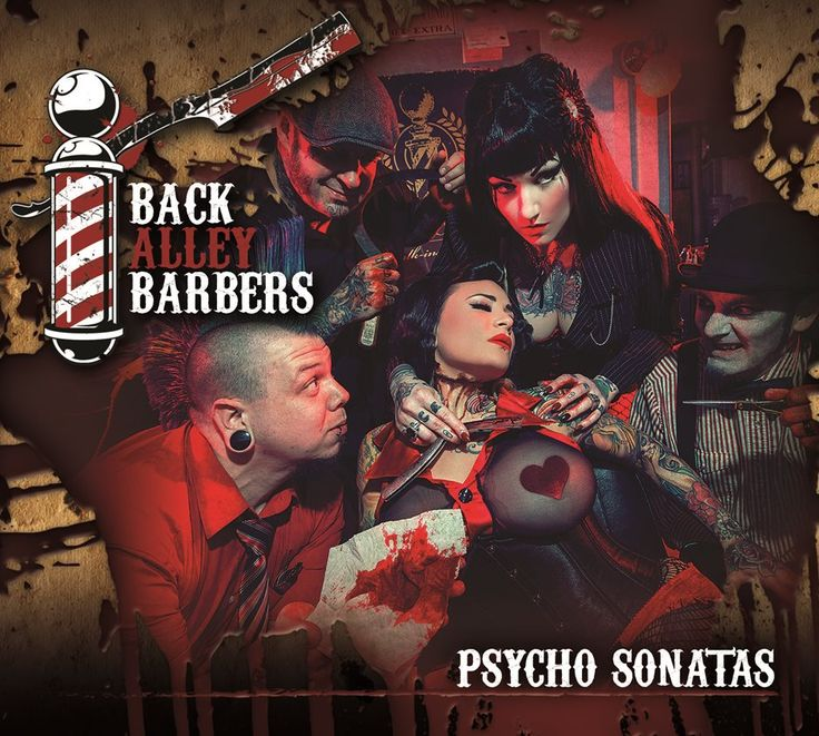 Back Alley Barbers Psycho Sonatas Album
