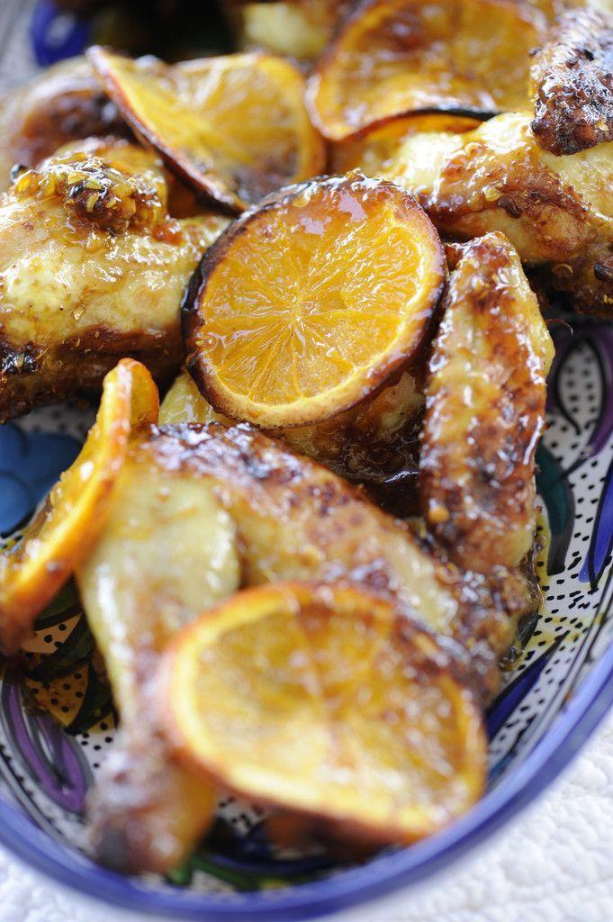 Алина курица с апельсинами. Курица — 1 шт. Апельсин — 4 шт. Мед — 100 г Чеснок — 3 зубчика Семена кориандра целые — 1 ст.л. Куркума — 1 ст.л. Морская соль Оливковое масло