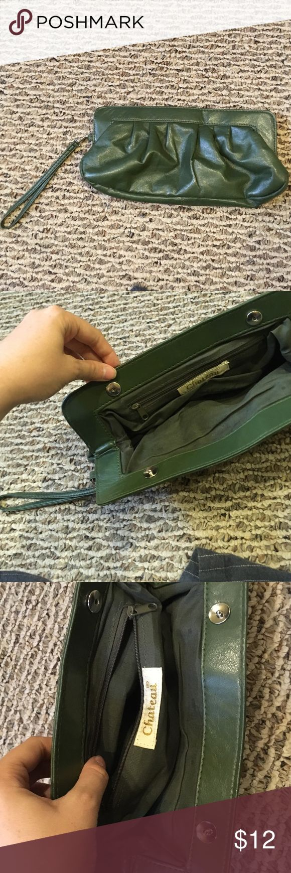 Cute Olive Green Clutch Bag The cutest clutch for your next outing! Whether it be for a date or a girls night out on the town ! chateau Bags Clutches & Wristlets