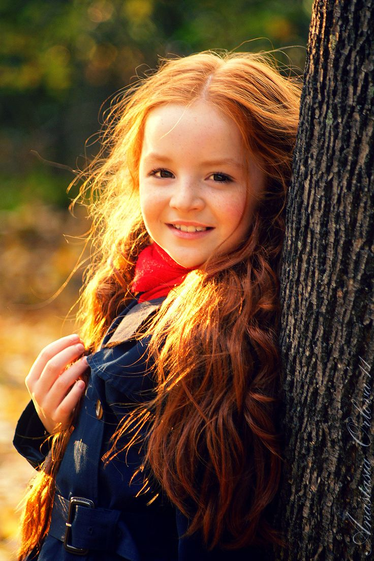 .Lighting Nature Red Hair <3
