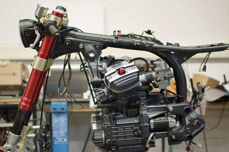 Honda CX500 GTS - 2015 - moteur / engine - Work In Progress