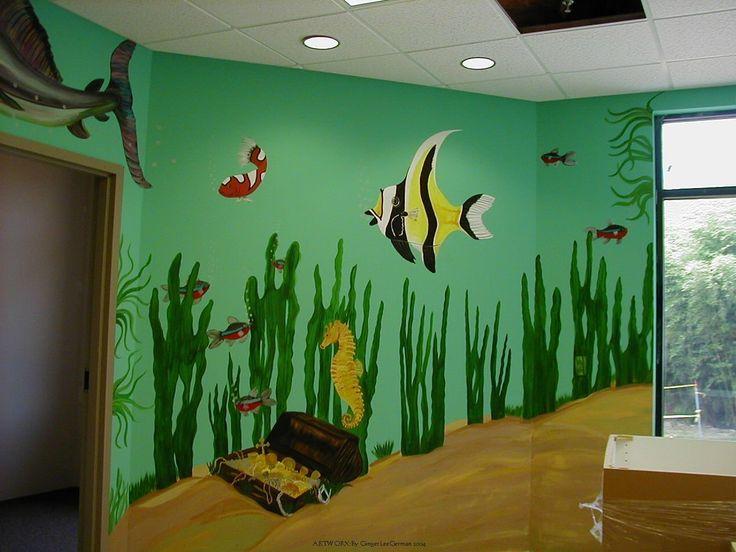 les 25 meilleures id es de la cat gorie aquarium mural sur pinterest id es de d coration d. Black Bedroom Furniture Sets. Home Design Ideas