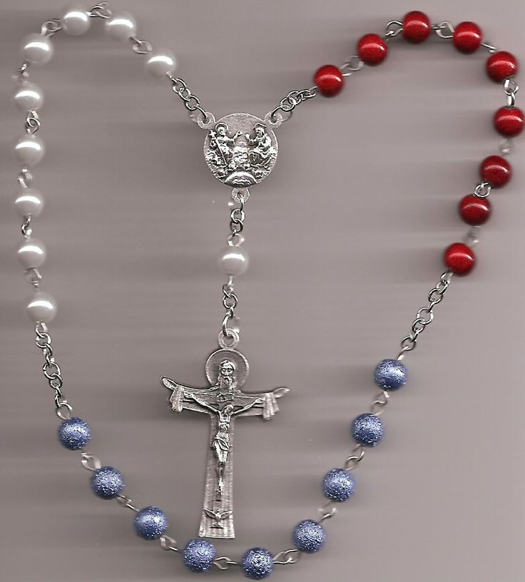 Chaplet of the Holy Trinity - INSTRUCTIONS - Catholic - BattleBeads