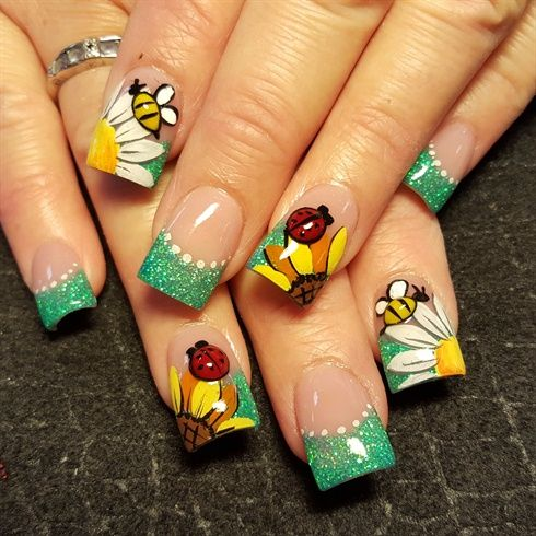 3d nails art ideas