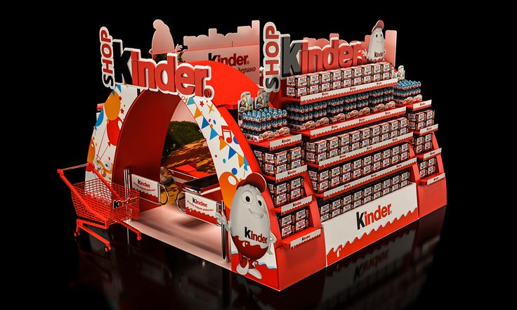Kinder Shop on Behance