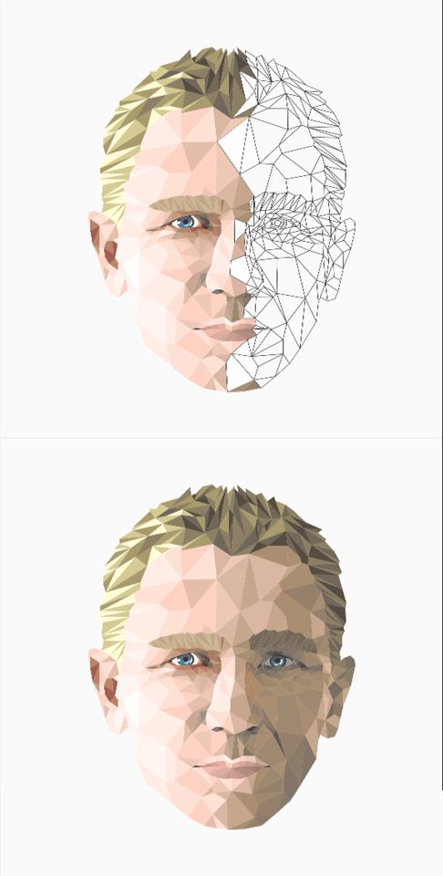Art Design of Daniel Craig #art #design #daniel #craig