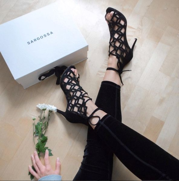 We hope you're enjoying your Fairytale's @kriselda we are loving the suede combination