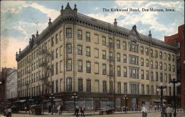 The Kirkwood Hotel Des Moines Des Moines Iowa Hotel