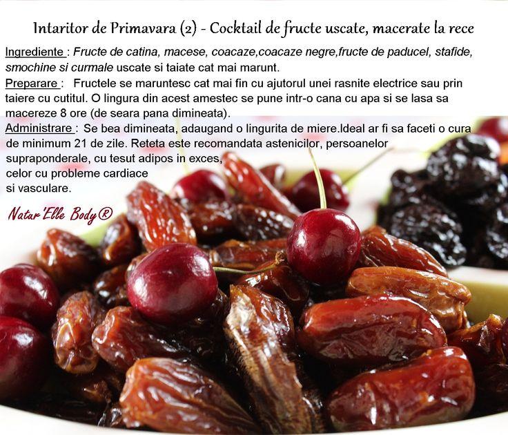 Intaritor de Primavara (2) - Cocktail de fructe uscate, macerate la rece