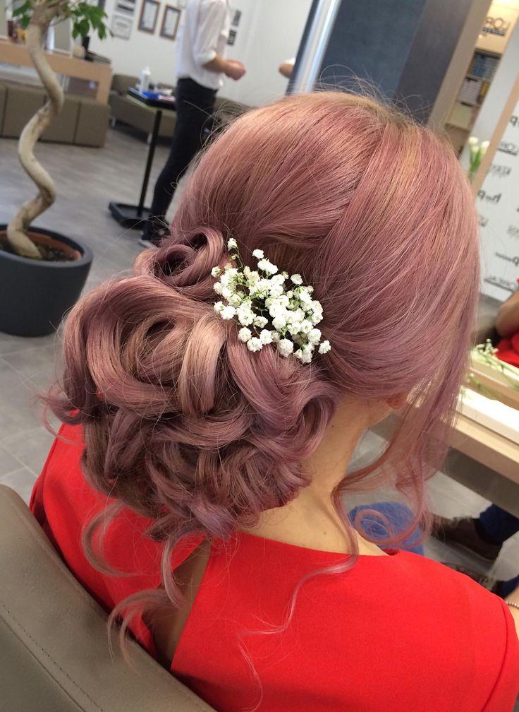 #hairbun #bun #messybun #messyhair #ervindemeter #bride #bridal #bridesmaids