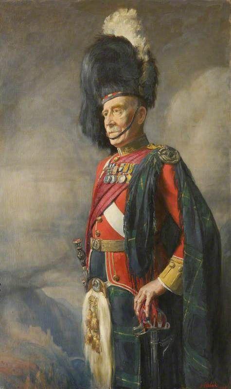 Colonel F. H. Neish, Gordon Highlanders