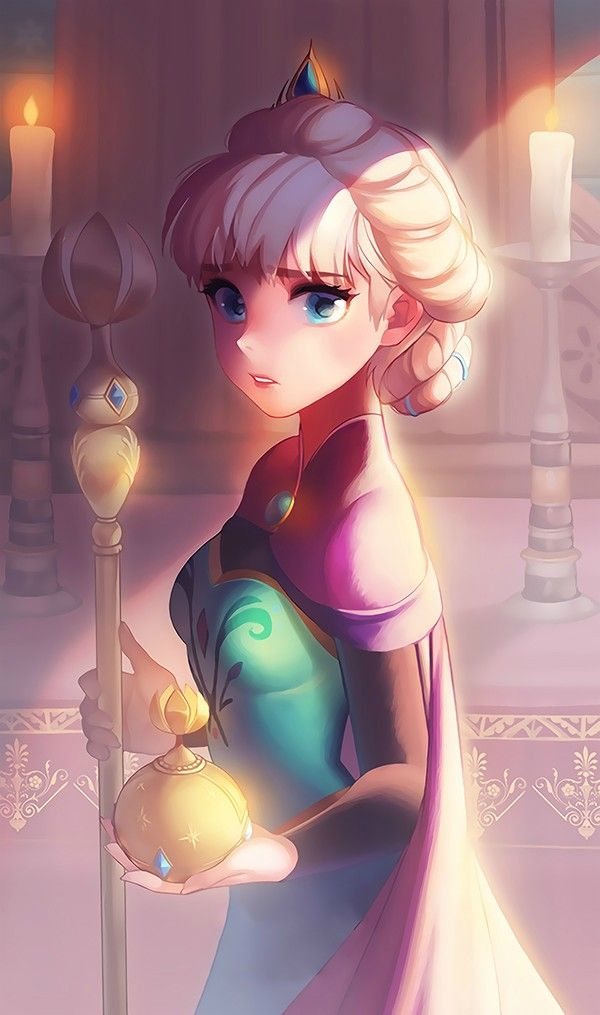 Frozen, Elsa, by seoji