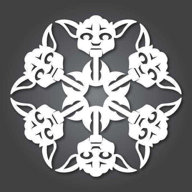 Star Wars Snowflakes!