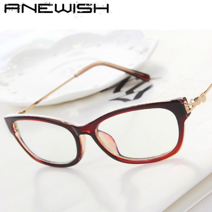 Cheap glasses hand, Buy Quality glasses frame black directly from China frames of glasses Suppliers: ANEWISH Fashion Women Optical Glasses Frame Retro Clear Lens Eyeglasses Anti-radiation Computer Reading Glasses Frame #3