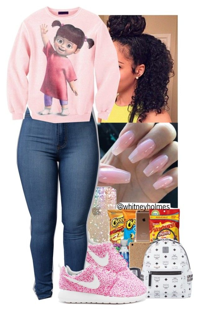 """Boo!💕😁"" by jasmine1164 ❤ liked on Polyvore featuring NIKE"