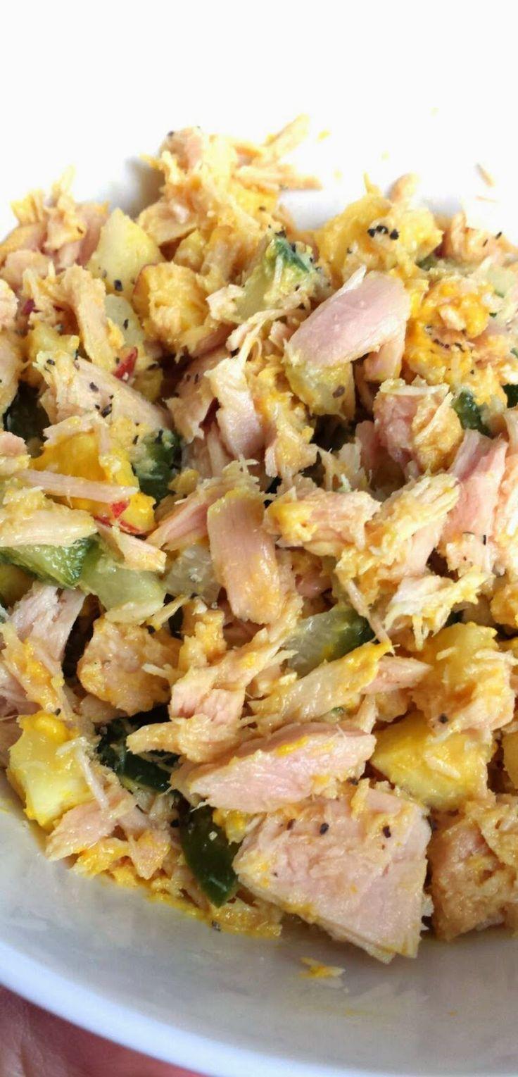 MY HCG DIET RECIPES: HcG diet recipe phase 2 P2: Tuna Salad