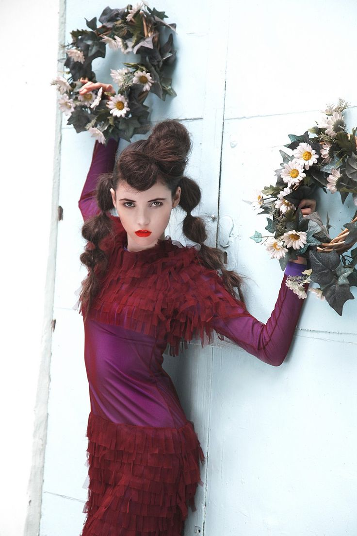 Lilac tombre evening prom dress real red carpet by NATIPUREIDEA