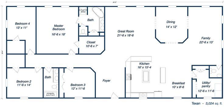 Floor Plans moreover Steel House Plans Manufactured Homes Floor Plans ...