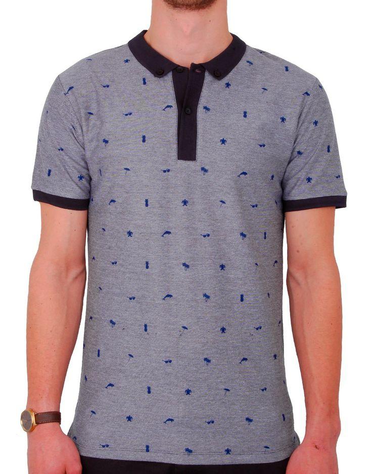 #polo #bleu #blue #summer #fashion #menswear