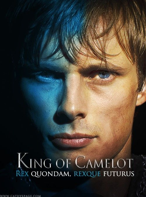 "Arthur Pendragon from BBC Merlin ""King Once, and King in the Future"""