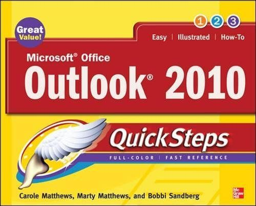 From 2.78 Microsoft Office Outlook 2010 Quicksteps