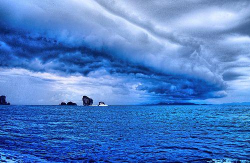 Weather change - Near Krabi, Thailand