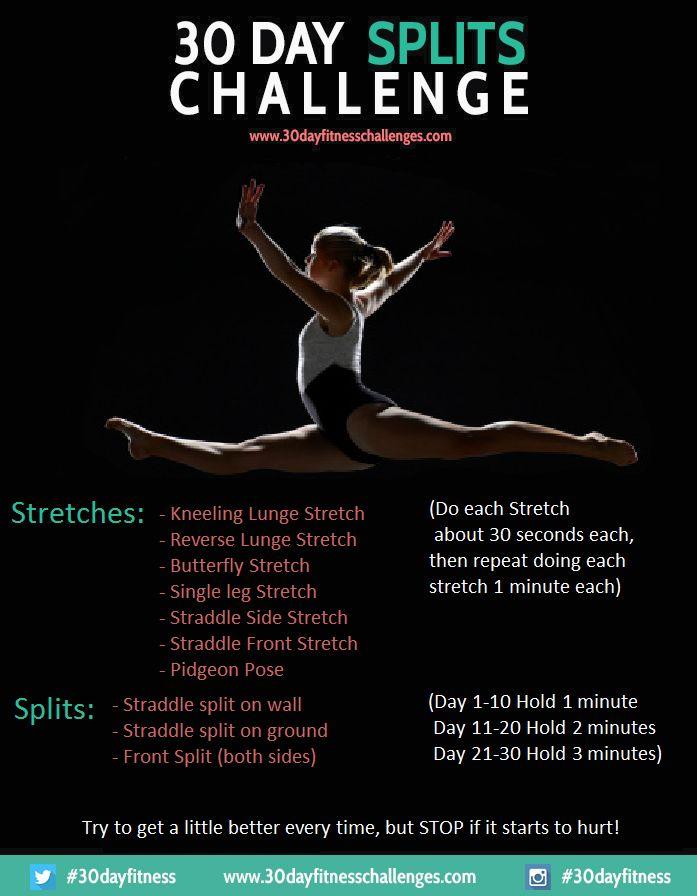 DEHNUNG 30 Tage Spagat Challenge
