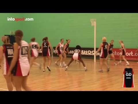 Netball Game: Goal Defence Position Guide