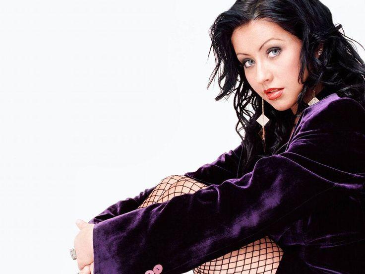 Christina Aguilera | Christina Aguilera, brunettes, actresses, celebrity, faces, white ...