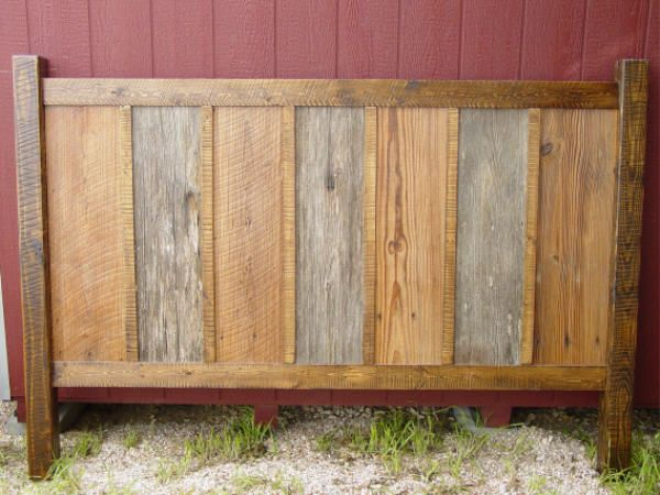 Aaron Chair Pottery Barn Rustic Barnwood Headboards BWHDBD001 $999.00 A LITTLE more cost ...