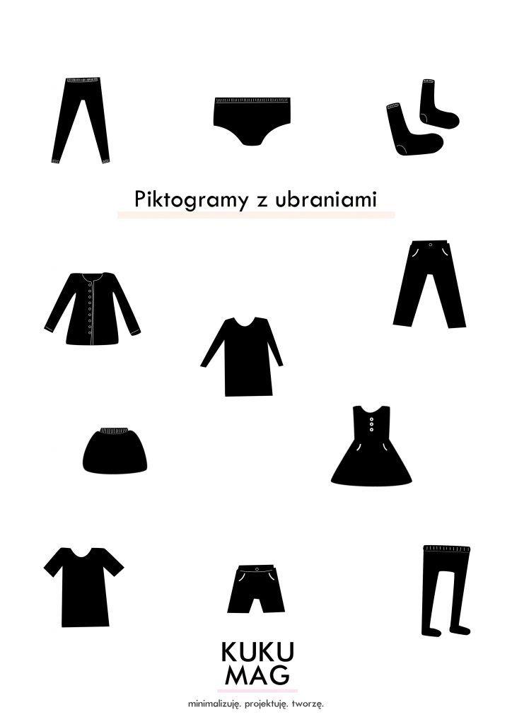 Szafa na ubrania w stylu Montessori + darmowe grafiki do ściągnięcia - kukumag- blog wnętrzarski, DIY, minimalizm, montessori
