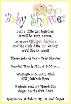 Baby Shower Invite Poems fearsome shower invitation wording for additional ideas 6811