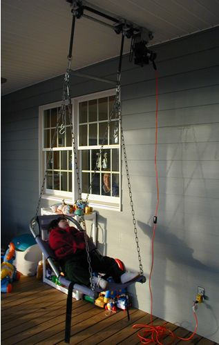 Special Needs Motorized Swing