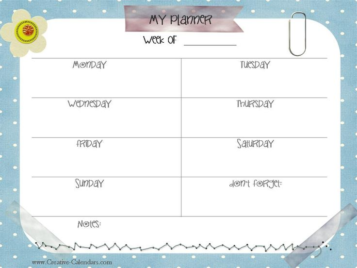 23 best Planner images on Pinterest Best planners, Career and Calendar