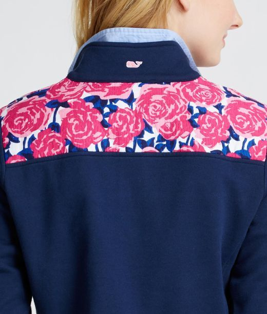 Rose Print Shep Shirt. This pattern is lovely!!!