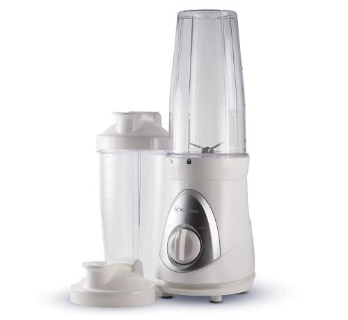 Smoothie Blender with 2 Blending Cups and Travel Lids $11.94! - http://couponingforfreebies.com/smoothie-blender-2-blending-cups-travel-lids-11-94/