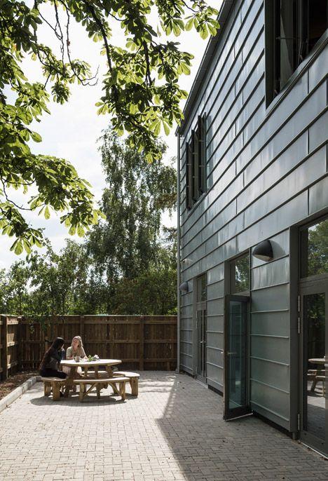 Wimbledon College of Arts studios by Penoyre & Prasad