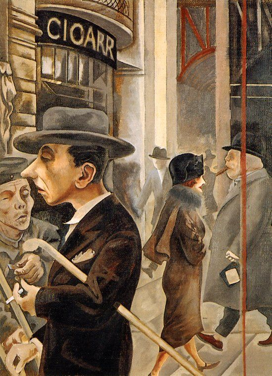 George Grosz. Date of birth: July 26, 1893, Berlin, Germany Date of death: July 6, 1959, Berlin, Germany German Expressionism and Dadaism